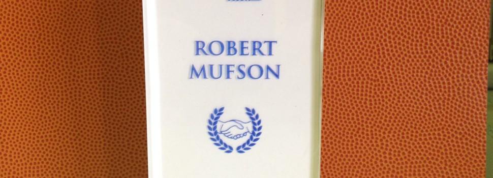 The Robert Mufson Sportsmanship Award Winners